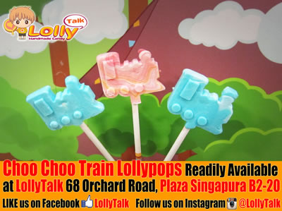 Choo Choo Train Lollipops