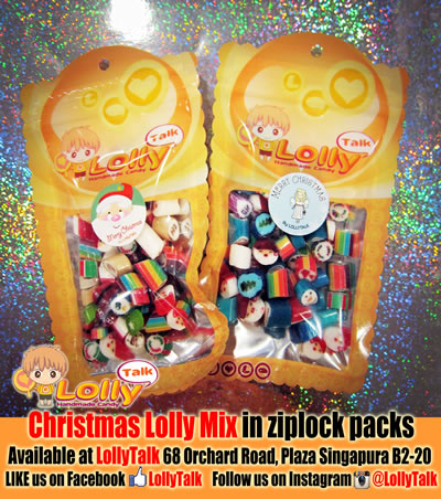 Christmas Lolly Mix 70g