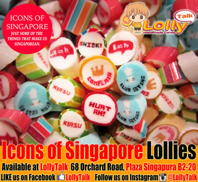 Icons of Singapore Lolly Mix