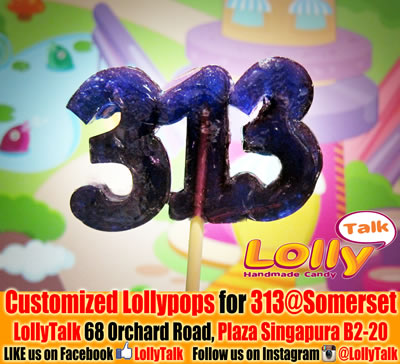 Lollipops for 313@Somerset