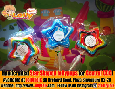 Medium Star lollypops