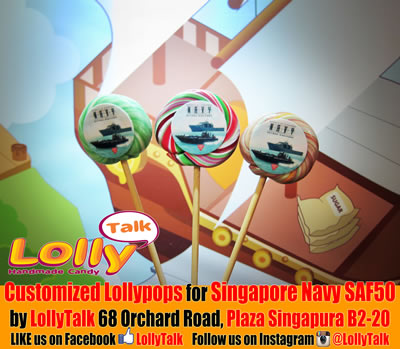 Singapore Navy Lollipops