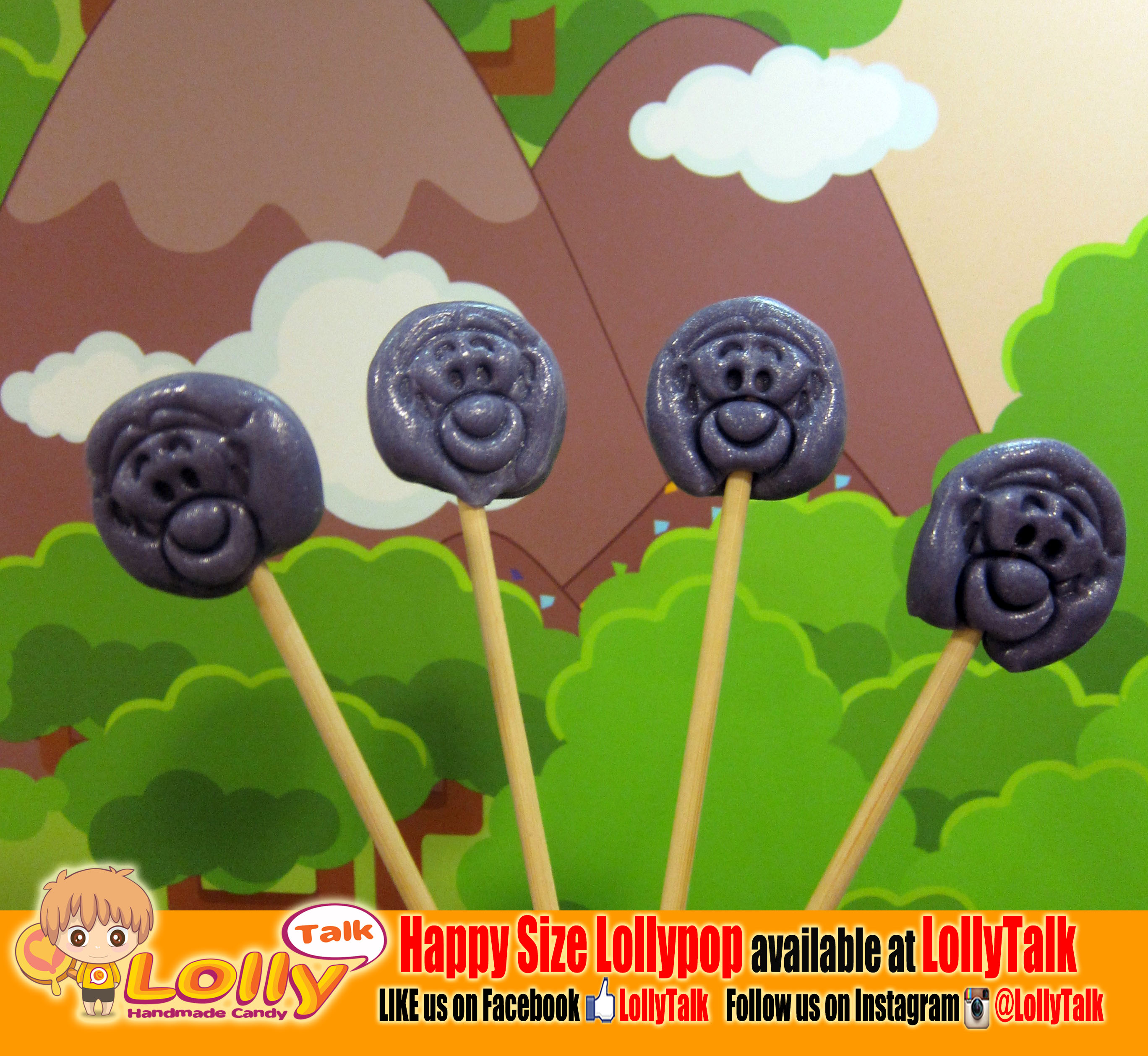 monkey lollypop