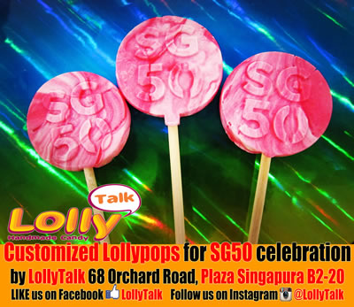 SG50 lollipops