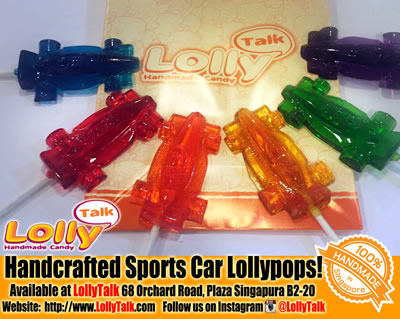 Sports Car lollipops F1