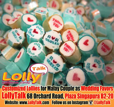 Wedding lollies for Malay Couple