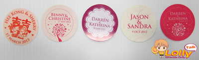 personalized sticker label