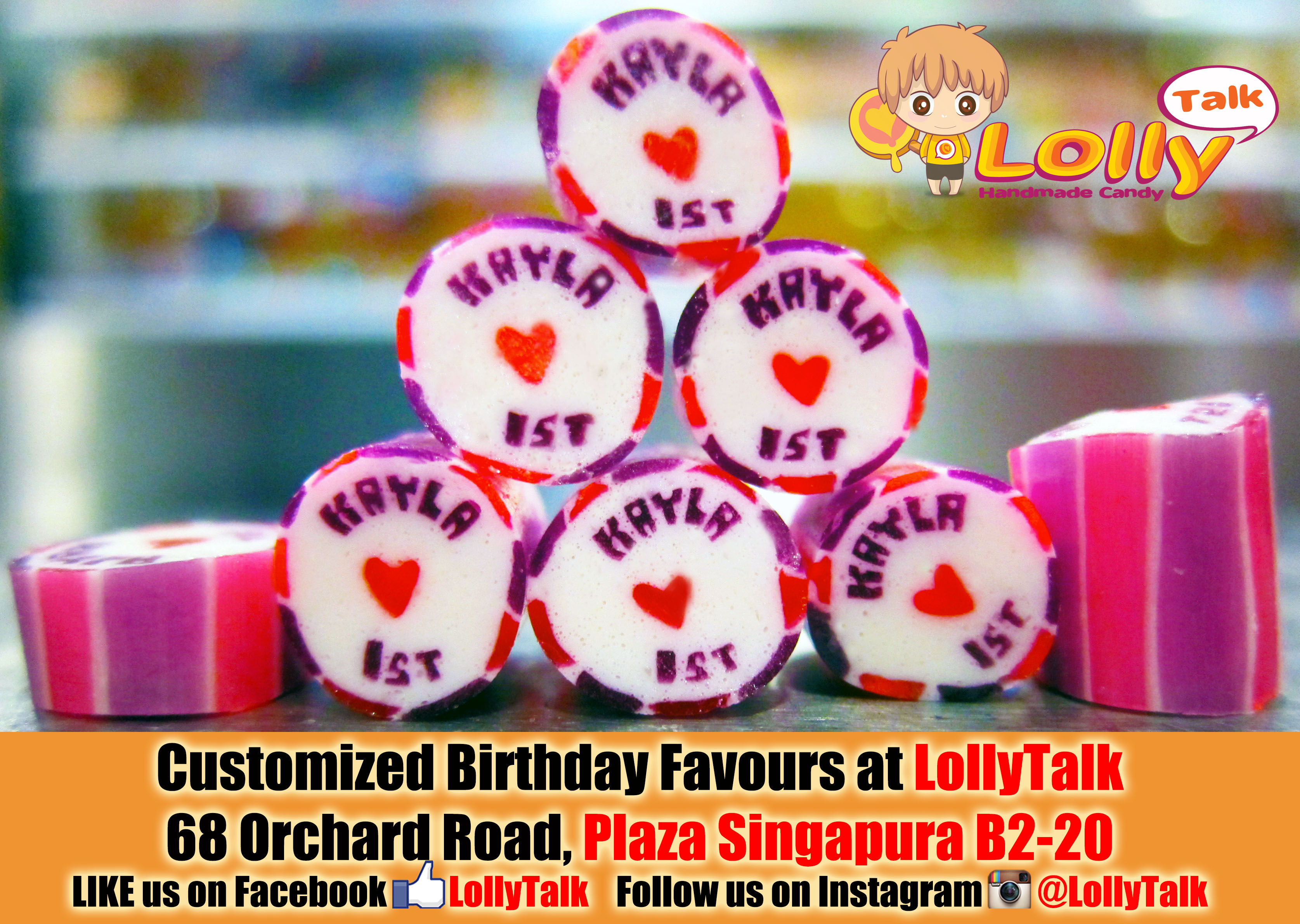 LollyTalk Singapore: Customized Handmade rock candy with ...