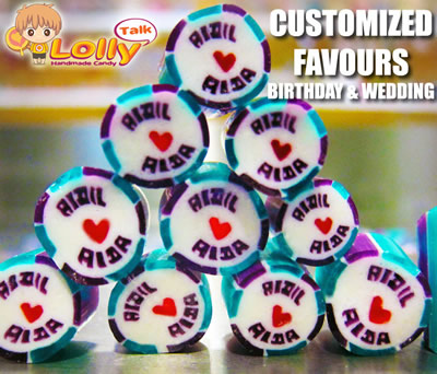 LollyTalk Singapore: Corporate customization orders for