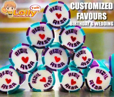 lollytalk singapore customization orders for weddings handmade